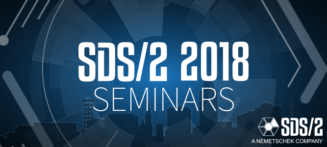 Upcoming SDS/2 2018 Seminars in July and August
