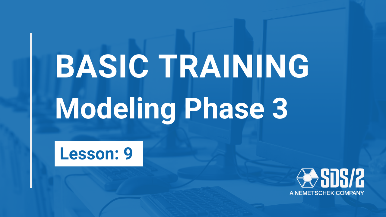 Lesson 9: Modeling Phase 3