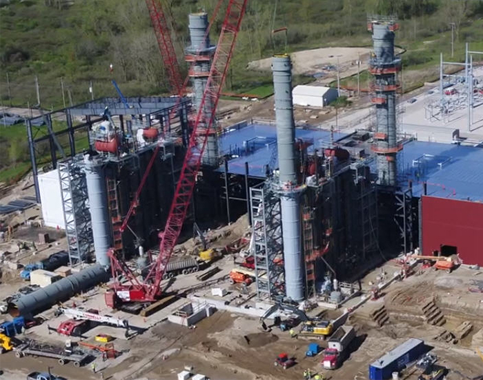 BWL Energy Park aerial site photo