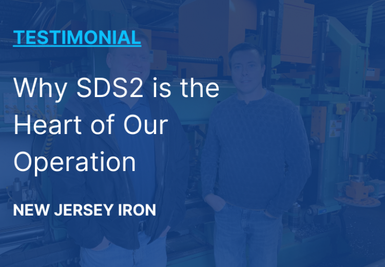 New Jersey Iron - Why SDS2 is the Heart of Our Operation
