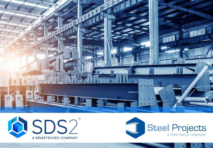 SDS2 and Steel Projects, steel detailing software, fabrication management