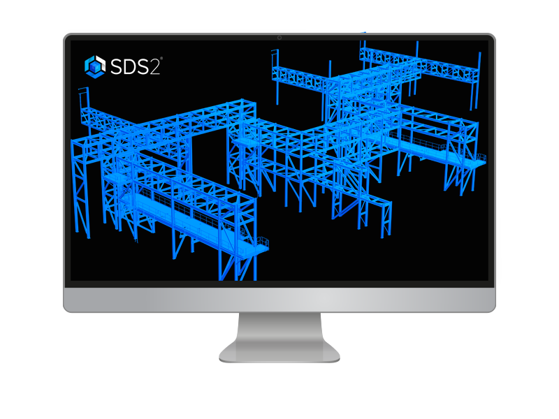 SDS/2 Structural Steel Fabrication